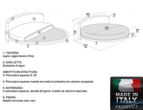 Matratze Rund by Rundes Bett Ring Curvo Made In Italy 100 Mit Matratze 220