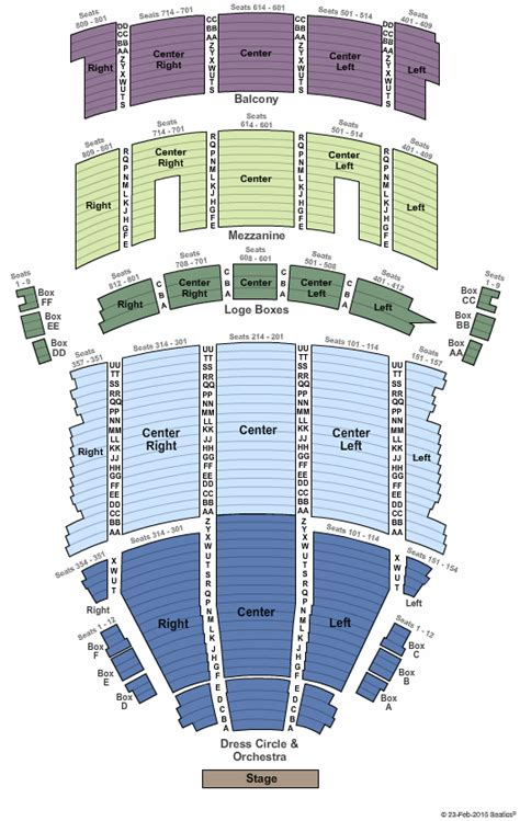 state theater seating chart cleveland tickets seating chart state theatre
