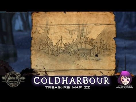 coldharbour treasure map coldharbour treasure map ii elder scrolls wiki