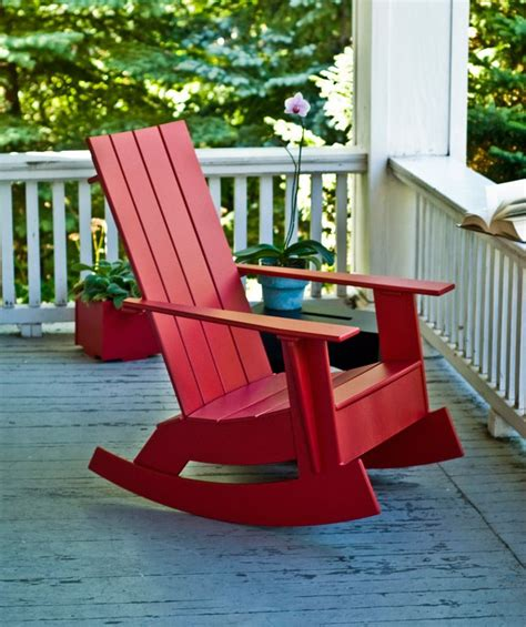 adirondack rocking chair from loll designs adirondack