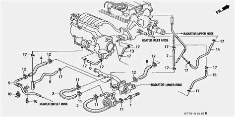 ls  gsr engine carpartment hose connection honda tech honda forum discussion