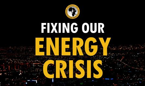 Energy Crisis by Fixing Our Energy Crisis Ineng