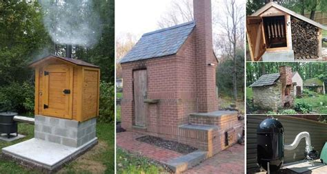 backyard smokehouse 12 diy smokehouse ideas home design garden
