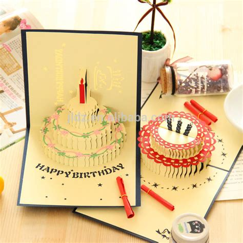 Recordable Birthday Cards Wholesale 3d Record Musical Greeting Cards Recordable