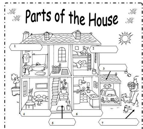 parts of the house in spanish maestra de ingl 233 s y primaria vocabulario de la casa house para colegio