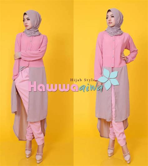 Celana Untuk Busana Muslim contoh gambar baju muslim modis untuk padupadan celana
