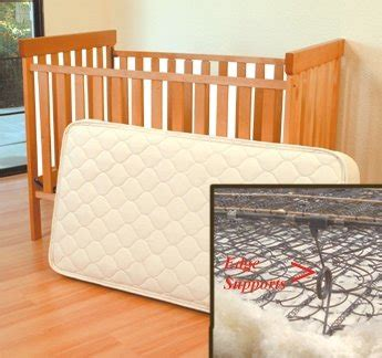 Organic Wool Crib Mattress Organic Wool Cotton Crib 242 Coil Mattress 28x52 Katrine Abelsenril