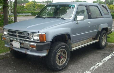 89 Toyota 4runner File 87 89 Toyota 4runner V6 Jpg Wikimedia Commons