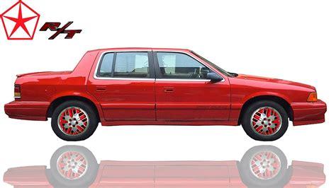 how cars engines work 1995 dodge spirit spare parts catalogs ᴴᴰ 1991 dodge spirit r t sedans youtube