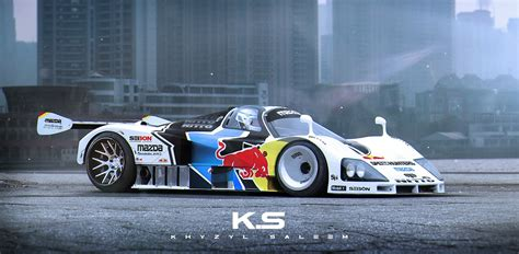 is mazda an car mazda 787b becomes a drift car in this manic rendering