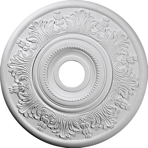 6 ceiling medallion ekena millwork cm20vi 20 inch od x 3 1 2 inch id x 1 1 2