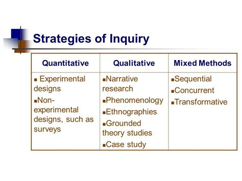 design experiment using sequential qualitative analysis chapter one the selection of a research design ppt