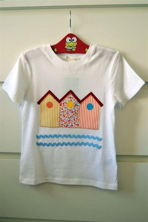 Blouse Kece 14 camiseta decorada con tela y pintura todo hecho a mano camisetas infantiles