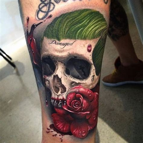 tattoo joker skull best 25 joker tattoos ideas on pinterest