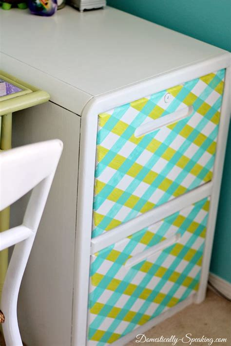 washi tape kitchen cabinets striping a file cabinet beauty filing cabinets and