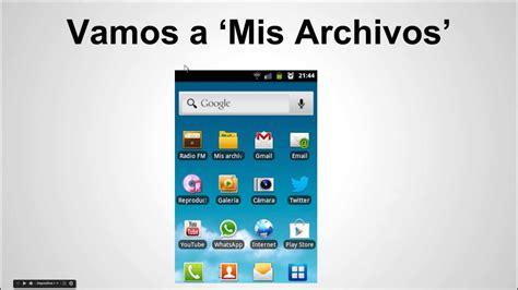 ver imagenes ocultas android ver archivos ocultos en los m 243 viles o celulares con el so