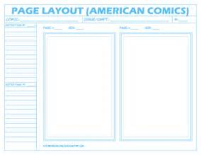 Comic Page Template by Comic Layout Page American By Futureshockcomics On