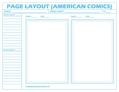 comic book layout template comic layout page american by futureshockcomics on