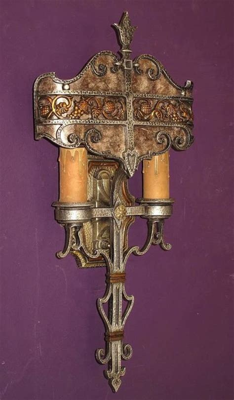 1930s Outdoor Lighting 1920s 1930s Tudor Revival Style Sconces Original Finish At 1stdibs