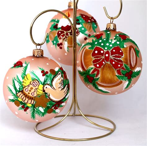 american christmas glass ornaments set golden yolkstar
