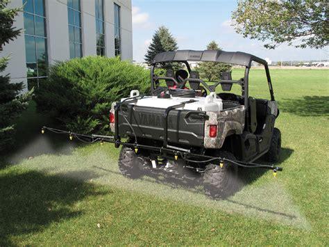 fimco  gallon lawn garden utv sprayer  nozzle boom