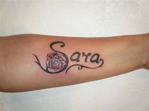 arm name tattoo ideas