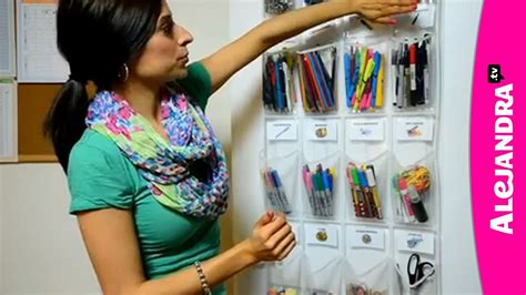 youtube organizing school supply organization how to organize small supplies