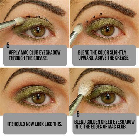 tutorial eyeshadow green natural olive green eyeshadow tutorial blog beauty care