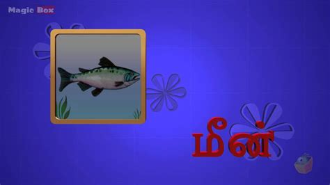 4 Letter Words In Tamil 2 letter words adipadai tamil animated educational