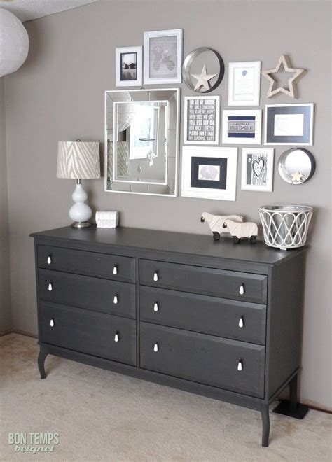 grey bedroom with black furniture paint behr s perfect taupe from love the l too bon