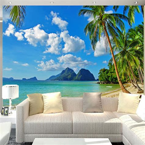 wallpaper for walls nature scenes aliexpress com buy custom mural 3d natural scene photo