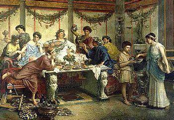 banchetti romani alimentazione nell antica roma