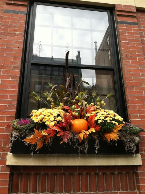 Window Box Decorating Ideas by Best 25 Fall Window Boxes Ideas On Fall