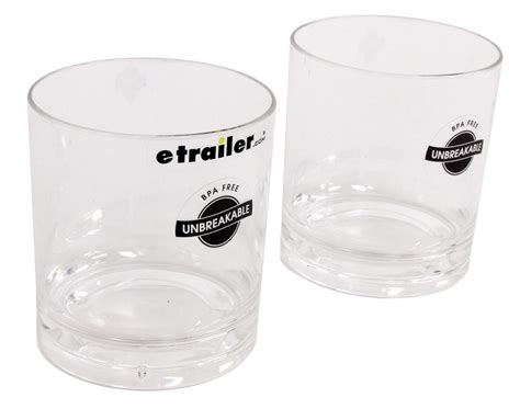 Kitchen Craft Polycarbonate Glasses Camco Polycarbonate Tumblers 7 Oz Qty 2 Camco Rv