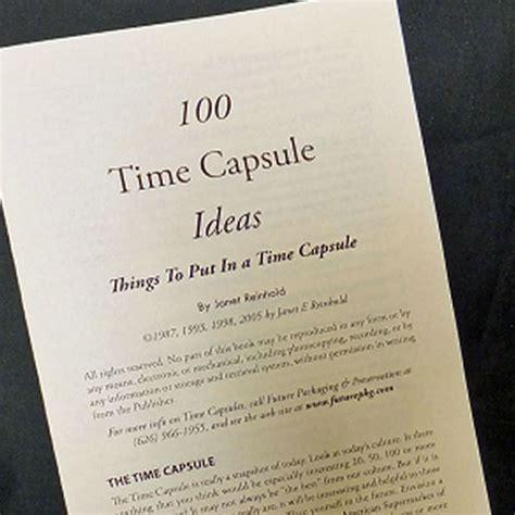 Time Capsule Essay by Time Capsule Essay By Dmish95 Anti Essays