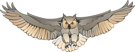 flying owl clipart flying owl clipart clipart best clipart best
