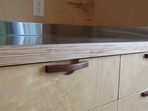 Stainless Steel Laminate Countertops by Stainless Steel Laminated To Baltic Birch Woodweb S