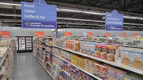 walmart food section grocery returns to rose hill lightning causes fire at