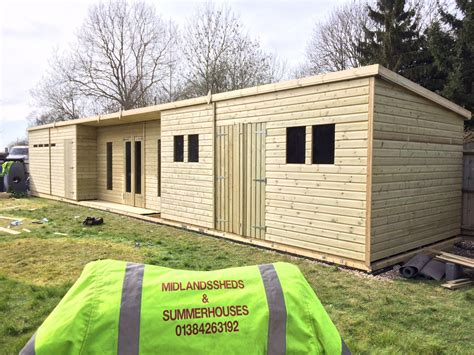 Shed Cave by 48x10 19mm Ultimate Tanalised Summerhouse Shed Cave 19mm Midland Sheds Summerhouses