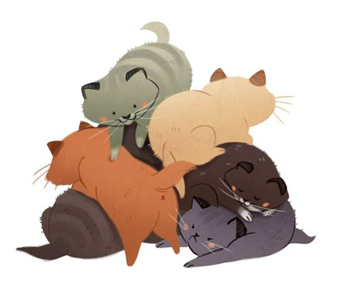 187 Best Daily Cat Doodles Images On Character