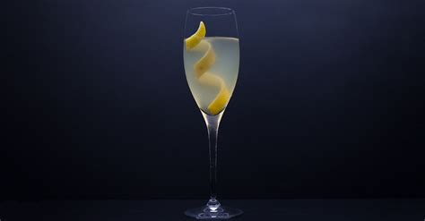 french 75 garnish french 75 cocktail recipe