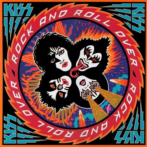 ncb cover design kiss rock and roll tokyo five