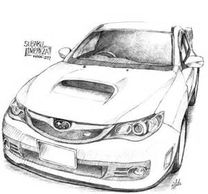 Subaru Drawing Subaru Impreza Wrx By Wildss On Deviantart