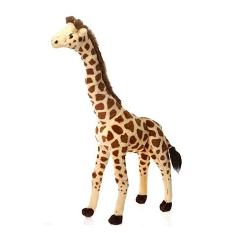 large stuffed giraffe 34 inch plush animal by
