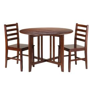 winsome mercer drop leaf table with 2 stools mercer drop leaf table with two stools winsome wood