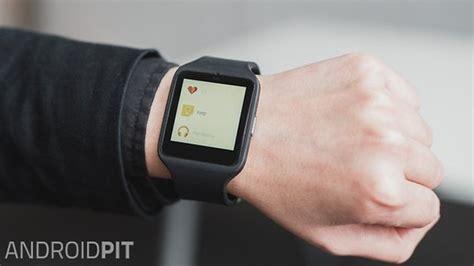 Sony Smartwatch 3 Review Sony Smartwatch 3 Buenas Especificaciones Pero Dise 241 O