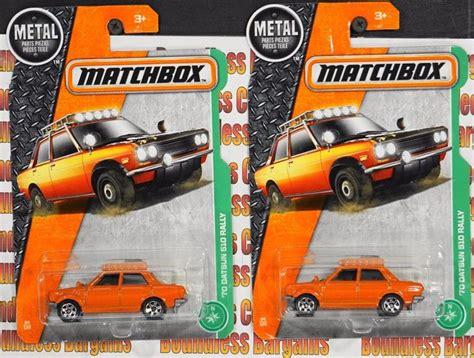 Diecast Matchbox Datsun Rally 510 222 best matchbox diecast collectibles images on
