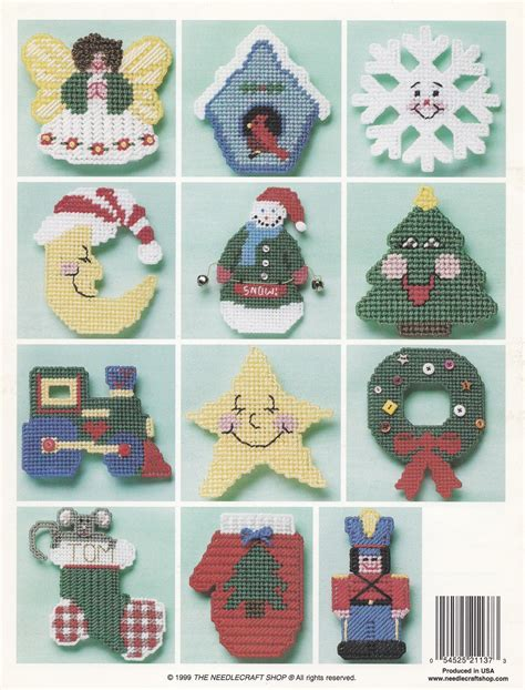 southwest christmas ornaments plastic canvas cheer ornaments plastic canvas pattern booklet tns 993063 needlepoint patterns