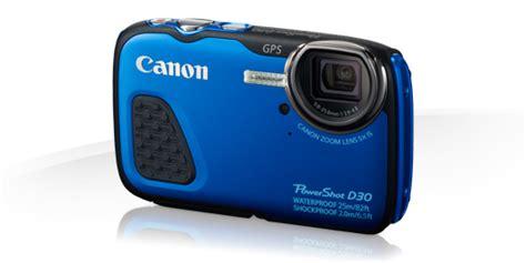 Kamera Canon Powershot D30 canon powershot d30 powershot and ixus digital compact