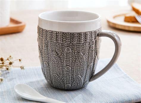 porcelain coffee mugs porcelain sweater lace coffee mug 187 gadget flow